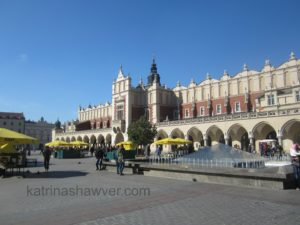 Cloth hall watermark