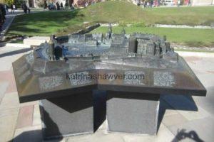 Model - wawel castle watermark