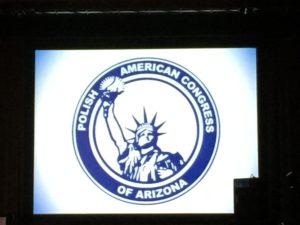 Polish American Congress of Arizona logo