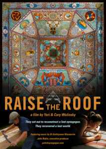 Poster for Raise the Roof Film by Yari & Cary Wolinsky
