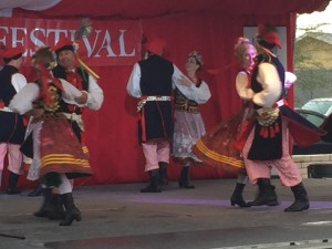 Polish dancers at the 2016 Polish Festival in Phoenix Arizona