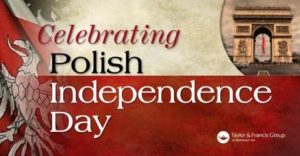 Celebrating Polish Independence Day Banner