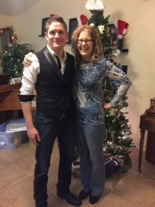 Happy New Year! My son is home from the Navy
