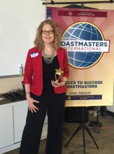 Toastmasters trophy