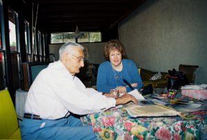 Henry Zguda and Katrina Shawver, circa 2003
