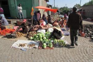 Street Vendor in Ethiopia