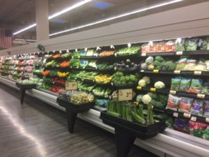 Produce in nearby grocery store
