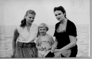 Donna Urbikas with sister and mother