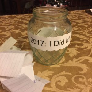 "2017 ""I Did It"" Jar"