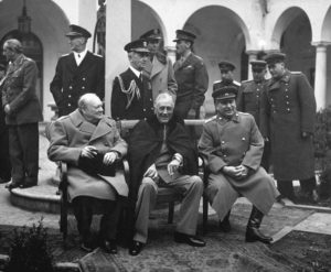 Churchill, Roosevelt and Stalin share Blame for misinformation