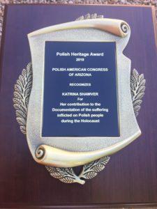 2018 Polish Heritage Award