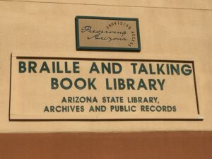 Arizona braille and Talking Book Library